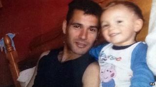 Marco De Araujo and grandson