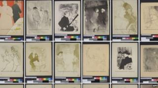 Artworks from the Gurlitt collection (November 2013)