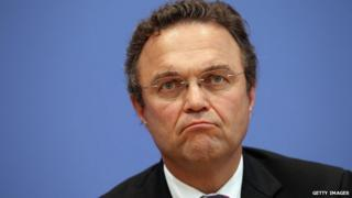 Germany's Agriculture Minister Hans-Peter Friedrich - file pic
