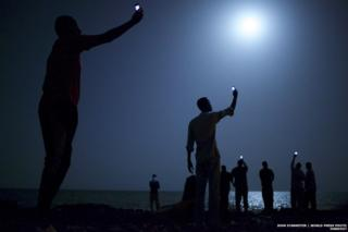 Winning photo in the 2014 World Press Photo awards