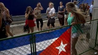 US tourists in Havana, Dec 13