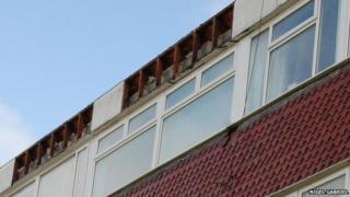 Damaged flats