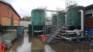 Kenley Water Treatment Works