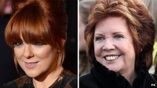 Sheridan Smith and Cilla Black