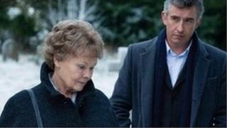 Dame Judi Dench and Steve Coogan