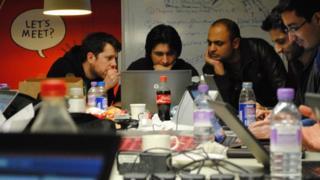 Flood Hack attendees