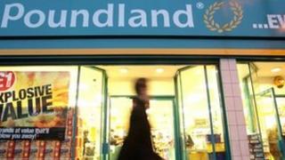 Pounland in Brixton