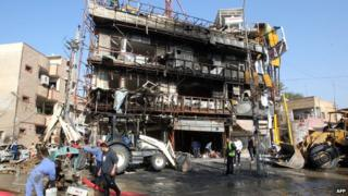 Iraq violence: Almost 50 killed in car bomb wave
