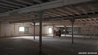 Inside the former Kimberley Brewery