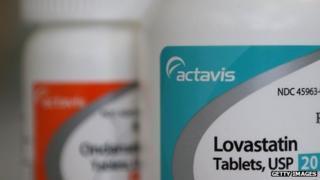 Bottles of pharmaceuticals made by Actavis