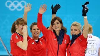 Women's curling team