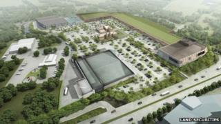 Proposed redevelopment of Newnham Court