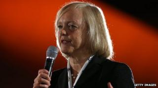 Meg Whitman, HP president and chief executive officer