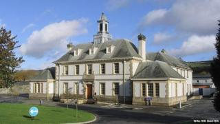 Peebles Sheriff Court