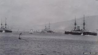 British fleet on Lough Swilly