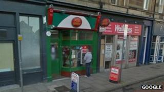 post office in dalry road