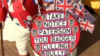 Bader protest