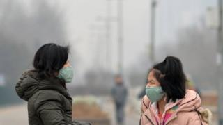 Rising pollution is causing health problems to Beijing residents, reports say