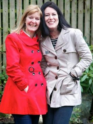 Sue and Claire Heathcote