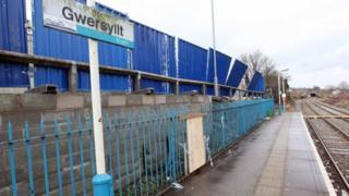Gwersyllt station