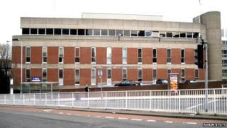 Snig Hill police station, Sheffield