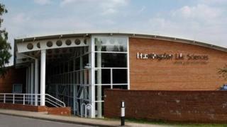 Huntingdon Life Sciences in Cambridgeshire