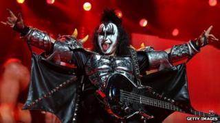 Kiss star Gene Simmons