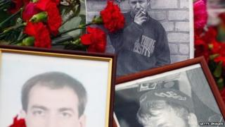 Shrine to those killed in last week's violence, Kiev, 25 Feb 14
