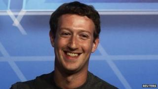 Facebook Chief Executive Officer Mark Zuckerberg 24 Feb 2014