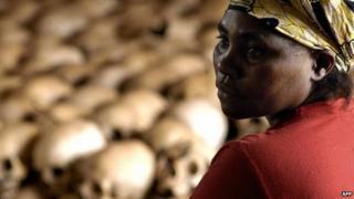 Genocide memorial site in Nyamata, Rwanda (file photo)