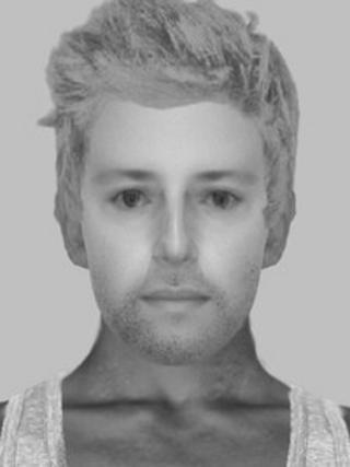 Crawley rape suspect e-fit