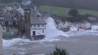 Kingsand storm, Feb 2014