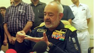 Admiral DK Joshi announced his resignation after a series of submarine accidents