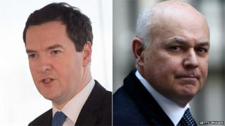 George Osborne and Iain Duncan Smith