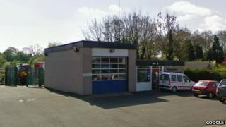 Prees fire station