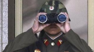 North Korean Soldier (April 2013)