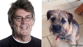 Mike Read and Digby
