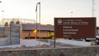 The Federal Correctional Institution in Safford, Arizona