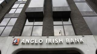 The former headquarters of the defunct Anglo Irish Bank in Dublin