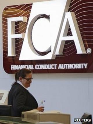 FCA, Canary Wharf