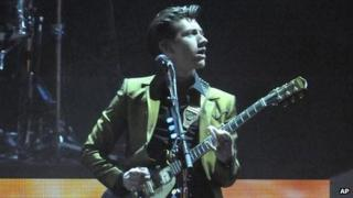 Arctic Monkeys Alex Turner