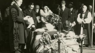 The Duke and Duchess of York 1934