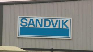 Sandvik in Derbyshire