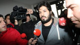 Azeri businessman Reza Zarrab, one of those detained - file pic
