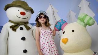 Thorntons snowman range