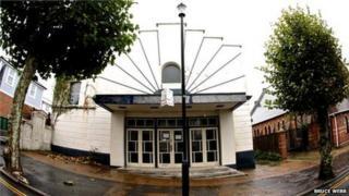 The former Rivoli Cinema in Sandown