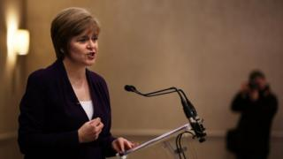 Nicola Sturgeon delivered her address to the Scottish Council for Development and Industry (SCDI)