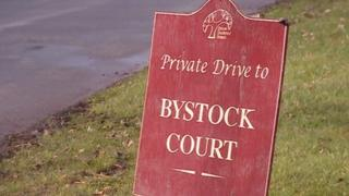Bystock sign