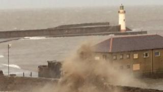 Waves at Whitehaven