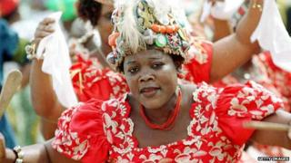 Nigerian dancer